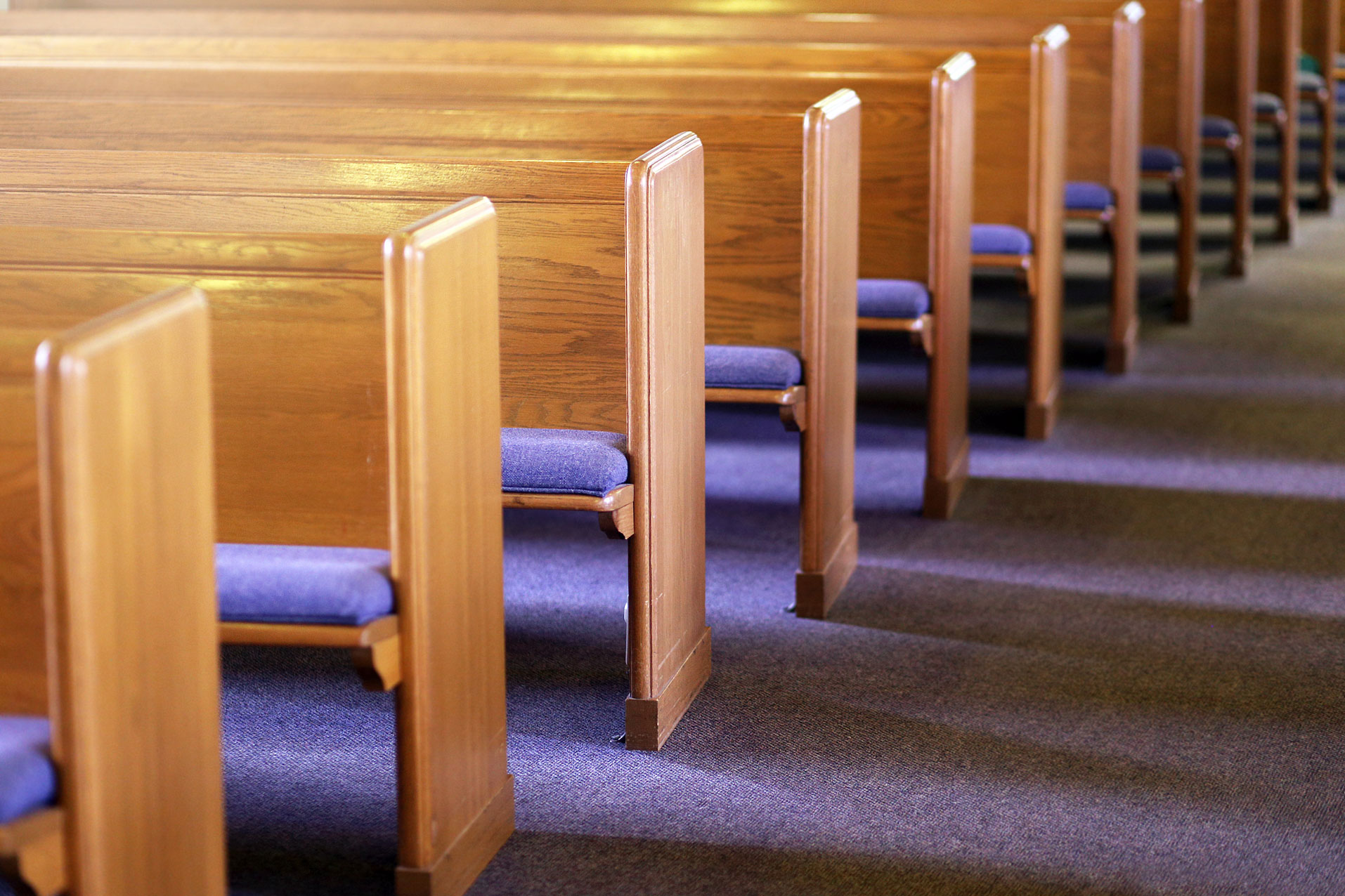Pew in Church
